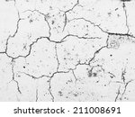 old cracked paint on the... | Shutterstock . vector #211008691