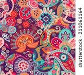 seamless pattern | Shutterstock . vector #211061164