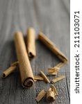 an image of cinnamon | Shutterstock . vector #211103071