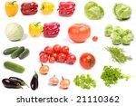 vegetables   Shutterstock . vector #21110362