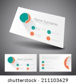 modern simple business card ...