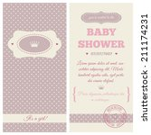 "baby shower invitation ""lilac... 