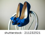 Beautiful Bride Shoes With A...