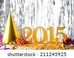 new year decoration 2015. | Shutterstock . vector #211245925