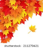 abstract autumn background  ...