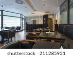 luxury hotel lobby cafe | Shutterstock . vector #211285921