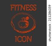 fitness icon.