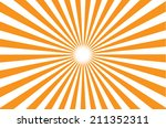 orange burst background. vector ... | Shutterstock .eps vector #211352311