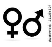 sex symbols | Shutterstock .eps vector #211356529