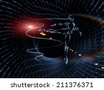geometry of man series.... | Shutterstock . vector #211376371