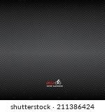 vector carbon fiber and dark... | Shutterstock .eps vector #211386424