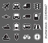 transport icon | Shutterstock .eps vector #211404667