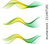 abstract waves | Shutterstock .eps vector #211407181