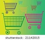 shopping carts   Shutterstock . vector #21142015