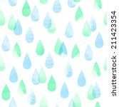 rainy abstract watercolor... | Shutterstock .eps vector #211423354