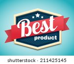 retro badge | Shutterstock .eps vector #211425145