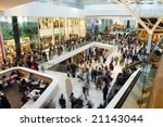 crowd in the mall | Shutterstock . vector #21143044