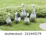 Ceramic Ducks Decoration...