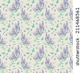background with lavender... | Shutterstock . vector #211468561