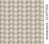 small woven white cane fiber... | Shutterstock .eps vector #211477324