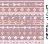 pattern in ethnic style | Shutterstock .eps vector #211488895