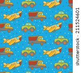 vector transport seamless... | Shutterstock .eps vector #211524601