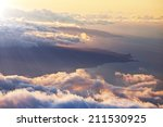 Beautiful Sunset Cloud And Hil...