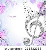 musical background | Shutterstock .eps vector #211532395