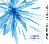 vector abstract background of... | Shutterstock .eps vector #211539151