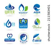 water icon set   3 | Shutterstock .eps vector #211583401