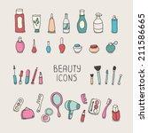 Set Of Vintage Cosmetics...