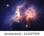 space nebula | Shutterstock . vector #211627939