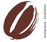 roasted coffee bean... | Shutterstock .eps vector #211633261