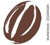 roasted coffee bean... | Shutterstock .eps vector #211633264