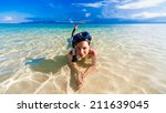 beautiful  smiling joy wonder... | Shutterstock . vector #211639045