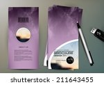 brochure design | Shutterstock .eps vector #211643455
