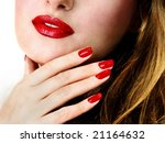 pretty face | Shutterstock . vector #21164632