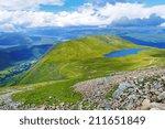 Ben Nevis Mountain Panorama