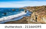 California Seascape With...