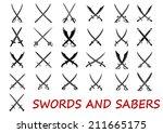 Crossed Swords And Sabers...