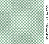 Light Green Gingham Pattern...