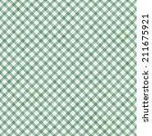 Light Green Gingham Pattern...
