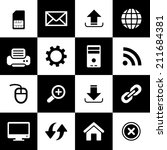 icon web set for use  | Shutterstock .eps vector #211684381