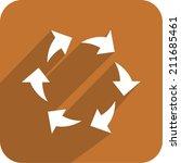 circular arrows icon  vector...   Shutterstock .eps vector #211685461