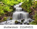 Cascade Waterfall In Planten U...