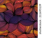 colorful floral pattern ... | Shutterstock .eps vector #211695139