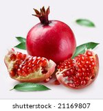 pomegranate | Shutterstock . vector #21169807