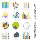 set of infographics elements | Shutterstock .eps vector #211702069