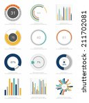 set of infographics elements | Shutterstock .eps vector #211702081