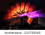 jackpot winner sign from casino ... | Shutterstock . vector #211720165